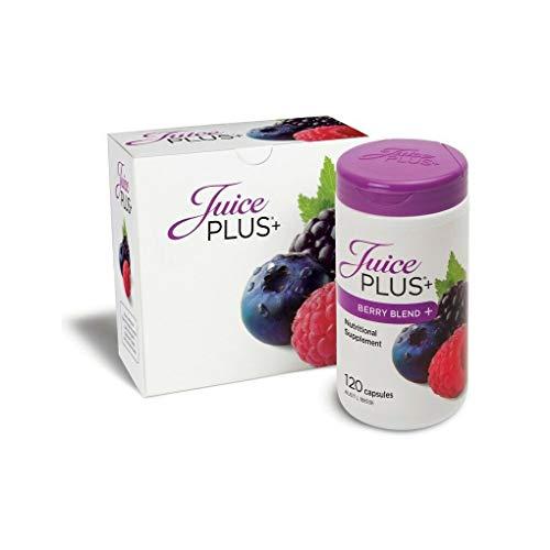 Juice Plus Cápsulas Pérdida de Peso, Zumo Plus Cápsulas Baya Mezcla, Zumo Plus Cápsulas 2 Meses Tratamiento