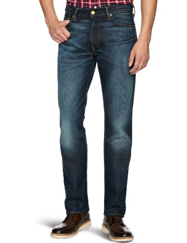Levi's Herren Jeans Normaler Bund Levi's 504 Regular Straight Fit 29990, Gr. 29/32, Blau (Tempted Midnight 0030)