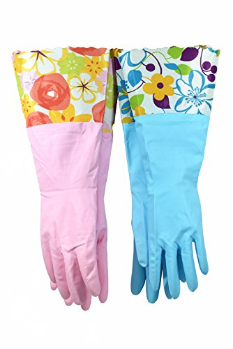 Finnhomy 31212 Household Gloves Latex free cleaning Gloves...