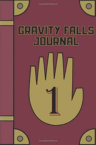Gravity Falls Journal: Fan edition diary filled with beautiful mandala patterned blank lined pages | 147 Pages | Perfect for people who loves watching gravity falls