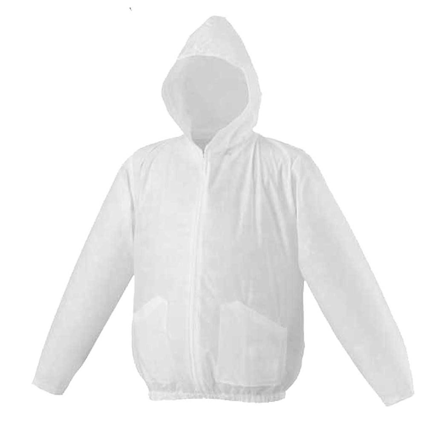 控えめなメディック本物空調服 使い切り 不織布製ジャンパー(ファンなし) 3190