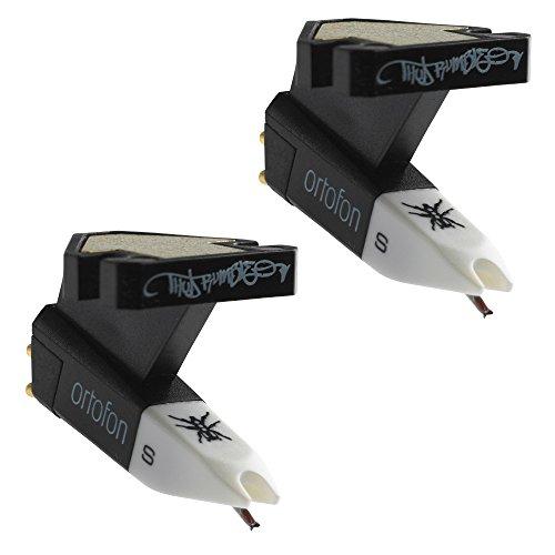 Ortofon OM Q.Bert Single Cartridges with Attached Stylus (2-pack)