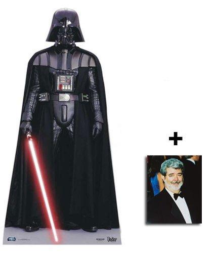 Darth Vader - Star Wars Klein Pappaufsteller mit 25cm x 20cm foto