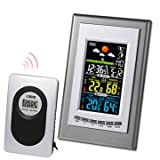 Generic Digital LCD Wireless Weather Station Clock