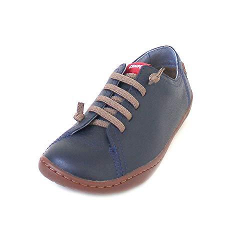 Camper Peu Cami Kids, Zapatillas sin cordones para Unisex Niños, Azul (Dark Blue 400), 33 EU