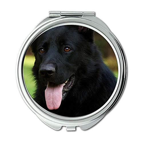 Yanteng Spiegel, Reise-Spiegel, Chihuahua Hund Hund Download, Taschenspiegel, 1 X 2 X Vergrößerung