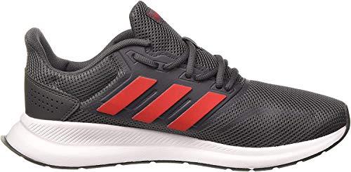 Tenis Masculino Esportivo Adidas Run Falcon Cor:CINZA;Tamanho:42