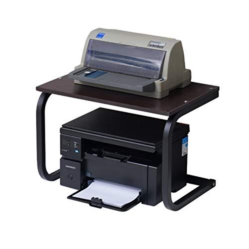 ADELALILI Soportes para impresoras Soporte de Impresora multifunción de Oficina de Escritorio establos del Horno microondas Estante Organizador de Escritorio Estante de la Cocina en Maceta Shelf