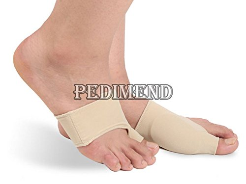 PEDIMEND Gel Plantar Fasciitis Arch Support Sleeve Cushion - Relief from Plantar Fasciitis/Peroneal and Tibial Tendinitis/Heel Spurs & Flat Achy Feet – Foot Care (Five Pairs)
