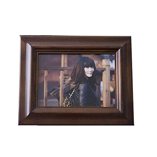Cadre photo Bois Premium Table Bureau Home stéréo Large épaississant, 8 inch (inner frame 203*153mm)