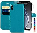 MONASAY iPhone X Wallet Case/iPhone Xs Wallet
