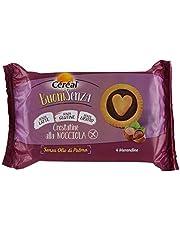 Céréal Crostatine alla Nocciola Senza Glutine, Senza Latte, Senza Lievito, 4 Buoni Senza dolci senza glutine - 150 gr