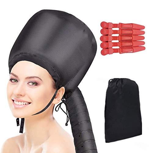 Vapeur à vapeur pour cheveux afro bonnet de cheveux Bonnet Capot Sèche-cheveux Attachement Bonnet de séchage Vapeur à vapeur à la main utilisé pour la coiffure