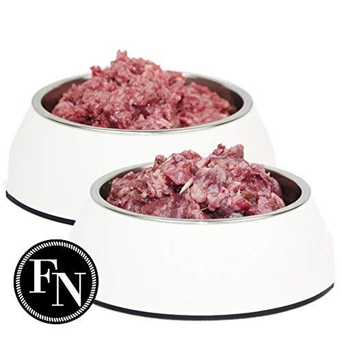 Frostfutter Nordloh > Rind und Geflügel < 50 x 500 g (25 kg), Barf Hundefutter gefroren
