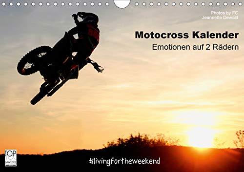 Motocross Kalender - Emotionen auf 2 Rädern (Wandkalender 2021 DIN A4 quer)