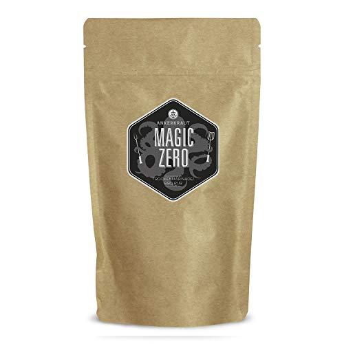 Ankerkraut Magic ZERO, Magic Dust OHNE ZUCKER, BBQ Rub Gewürzmischung zum Grillen von Fleisch und Gemüse, 250g Beutel