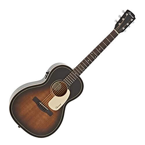Hartwood Villanelle Parlour Elektroakustische Gitarre Vintage Sunburst