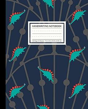 Handwriting Notebook  Dinosaur Composition Book Pre-K - Grade 3