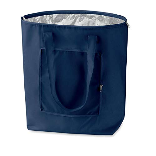Kühltasche für Einkauf faltbar (navy)