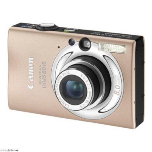 "Canon Digital IXUS 80 IS Digitalkamera (8 Megapixel, 3-fach opt. Zoom, 2,5\"" Display, Bildstabilisator) caramel"