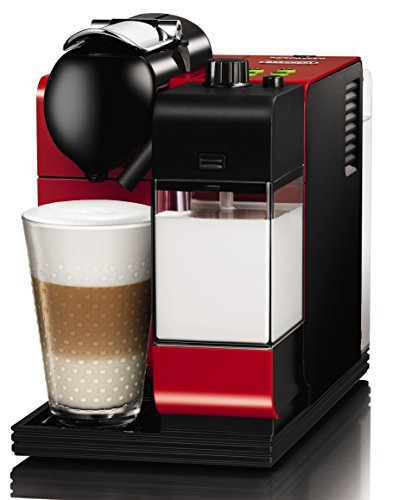 Delonghi EN520.R Cafetière Nespresso Lattissima Rouge