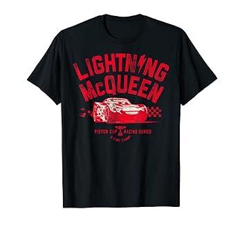 Disney Pixar Cars 3 Lightning McQueen Vintage T-Shirt C1 T-Shirt