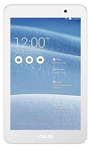 ASUS MeMO Pad 7–Tablet da 7', Wi-Fi, Bluetooth 4.0, 1GB di RAM, Android 4.4KitKat bianco bianco