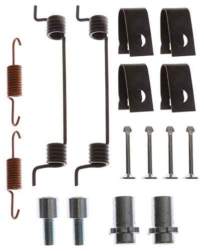 ACDelco 18K2708 Professional Rear Parking Brake Hold Down Spring Kit with Hardware