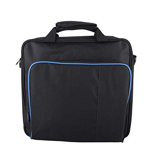 Asixx Bolsa para PS4, bolsa protetora antichoque, à prova de poeira, bolsa de viagem para PlayStation4 PS4 Slim, feita de material de nylon