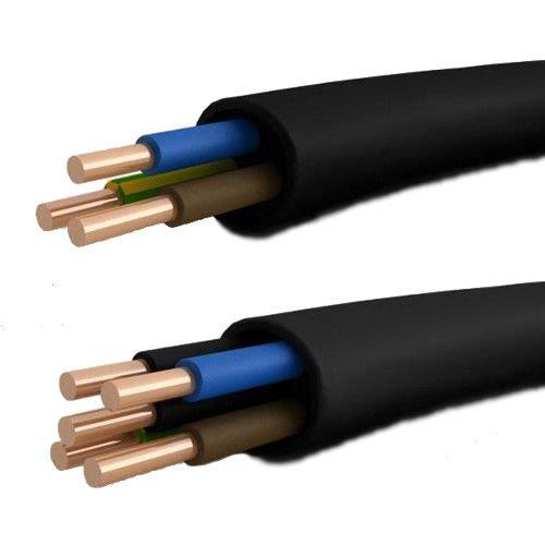 Erdkabel Elektrokabel Kabel Erdleitung Leitung YKY NYY-J 5x10 mm² (25m) 6€/m
