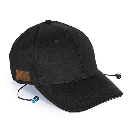 Phoenix Technologies Phcapbtb Gorra Auriculares Bluetooth, Negro, Talla única Unisex Adulto