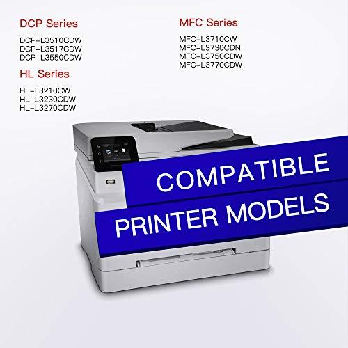 GPC Image Cartucho de Tóner Compatible para Brother TN247 TN243 TN-247 TN-243 para HL-L3210CW HL-L3230CDW HL-L3270CDW MFC-L3710CW MFC-L3730CDN MFC-L3750CDW MFC-L3770CDW DCP-L3510CDW DCP-L3550CDW