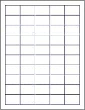 Laser/Ink Jet White Labels (1-1/2