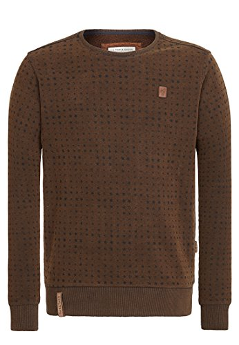 Naketano Herren Sweater Tinte Aufm Füller III Sweater