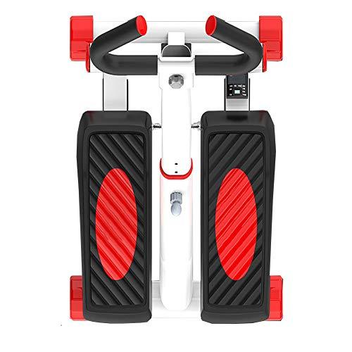 Tensism Foldable Stepper,Adjustable Armrest Stepper,Multi-Function Stepper,Sports Weight-Loss Hydraulic Stepper,Fitness Equipment B 3