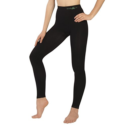 Body&Co Legging mit Anti-Cellulite-Massagewirkung Day (SCHWARZ, L/XL)