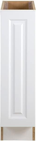 Hampton Bay Benton Assembled 9x24 5x34 5 In Base Cabinet In White