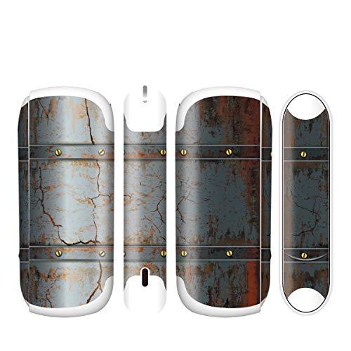 電子たばこ タバコ 煙草 喫煙具 専用スキンシール 対応機種 iQOS 3 アイコス 3 Metal (メタル) イメージデザイン 05 Metal (メタル) 01-iq08-0045