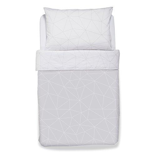 Snuz Designz Duvet & Pillow Case Set - Geo Mono