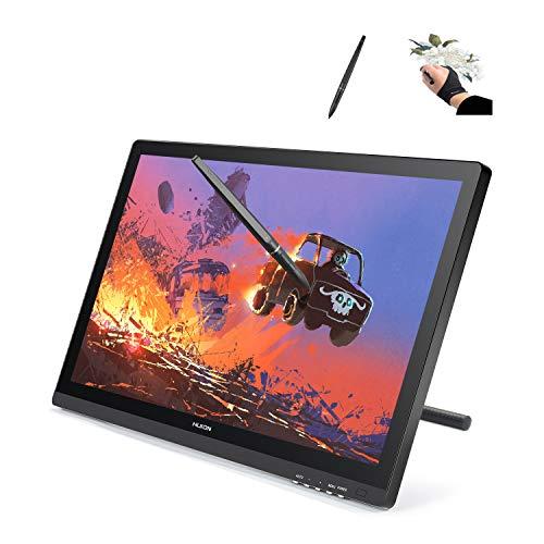 Monitor de desenho gráfico Huion GT-220 v2 IPS, tela HD para Mac e PC de 21,5 polegadas, preto