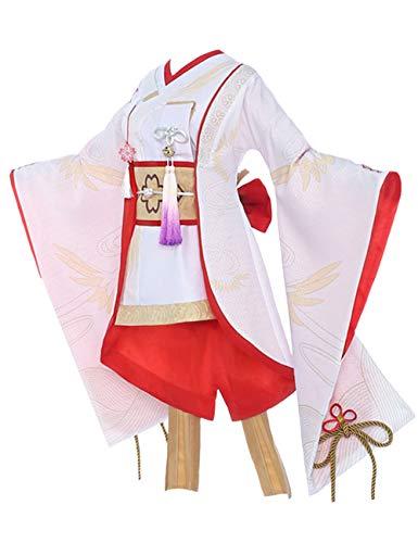 Honkai Impact 3, Yae Unsullied Lotus Anime Cosplay Kostüm Outfit für Frauen
