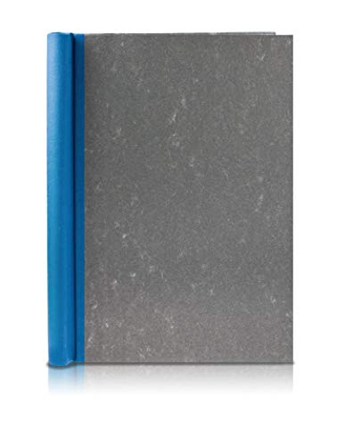 Klemmbinder Wolkenmarmor, A5 - Blau