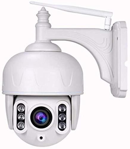 Cámara Domo IP PTZ al Aire Libre cámara de vigilancia Exterior inalámbrica, lo Que Significa 5 Zoom óptico, 40m visión Nocturna, IP65 IR vías de Audio, Movimiento