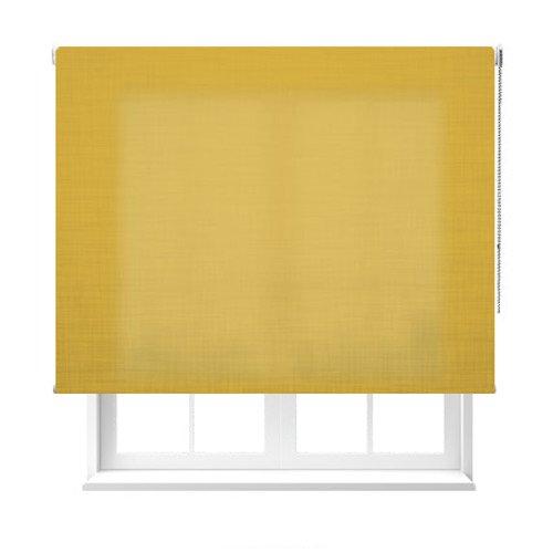 Estoralia - Estor enrollable de color amarillo.