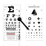 EMI OCC-WSK 3 Piece Set - Occluder Plus Snellen and Kindergarten/Children Plastic Eye Visi...