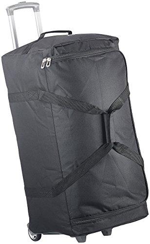 Xcase leichter Koffer XXL: Ultraleichte 2in1-XXL-Reisetasche mit abnehmbarem Trolley, 110 Liter (Reisetasche mit Rollen XXL leicht)