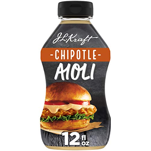 J.L. Kraft Chipotle Aioli with Chipotle Peppers (12 fl oz Bottle)