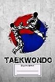Composition Notebook: Japanese & Asian Taekwondo Martial Arts...