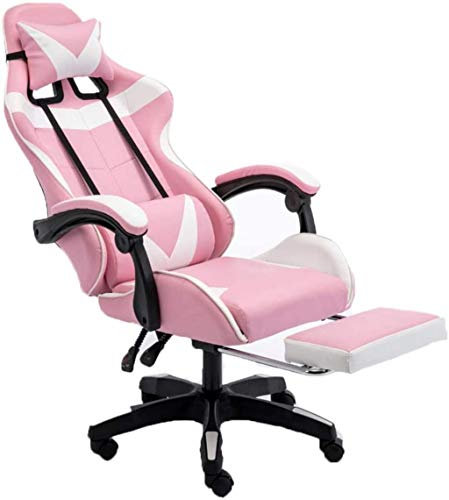 YONGYONGCHONG Silla de oficina para juegos, silla de oficina con brazos, sillón de tela transpirable sillas E-Sports (color: A)