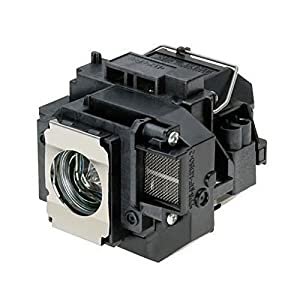 Supermait EP57 A++ Quality Replacement Projector Lamp with Housing, Compatible with Elplp57, Fit for EB-440W EB-450W EB-450Wi EB-455Wi EB-460 EB-460i EB-465i EB-450We EB-460e EB-455i